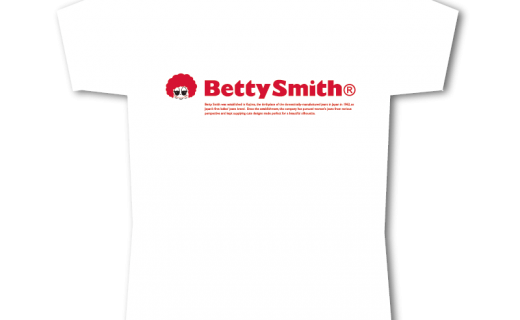 ベティスミスロゴTシャツ