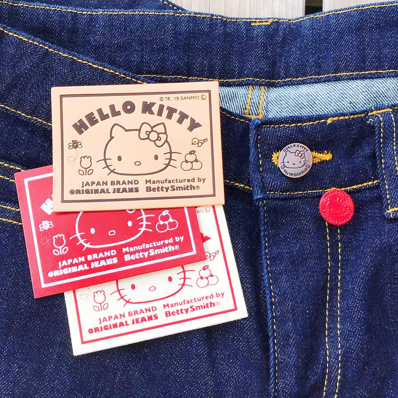 ハローキティのジーンズ作り体験